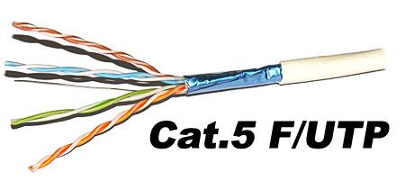 Câble catégorie 5 F/UDP